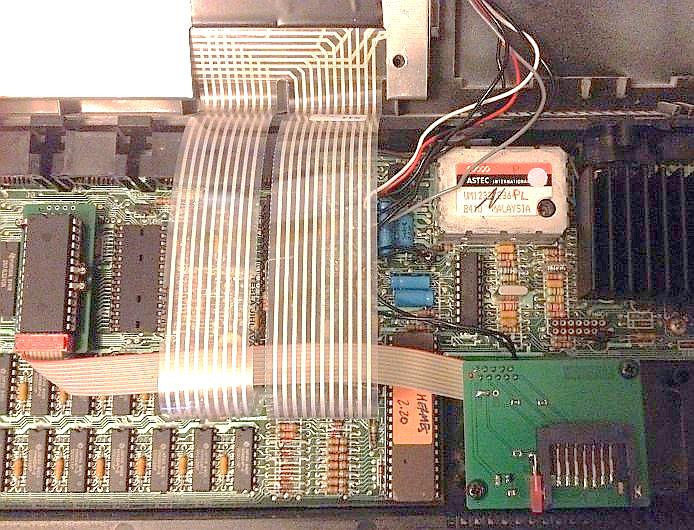Picture of a QL-SD installed in a QL