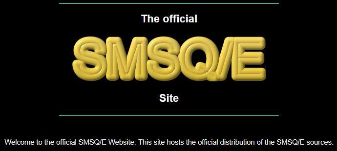 SMSQ/E website logo